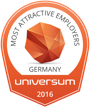Most attractive Employers 2016